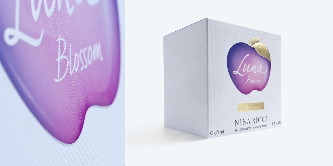 Étuis parfums et finitions: Nina Ricci – Luna Blossom