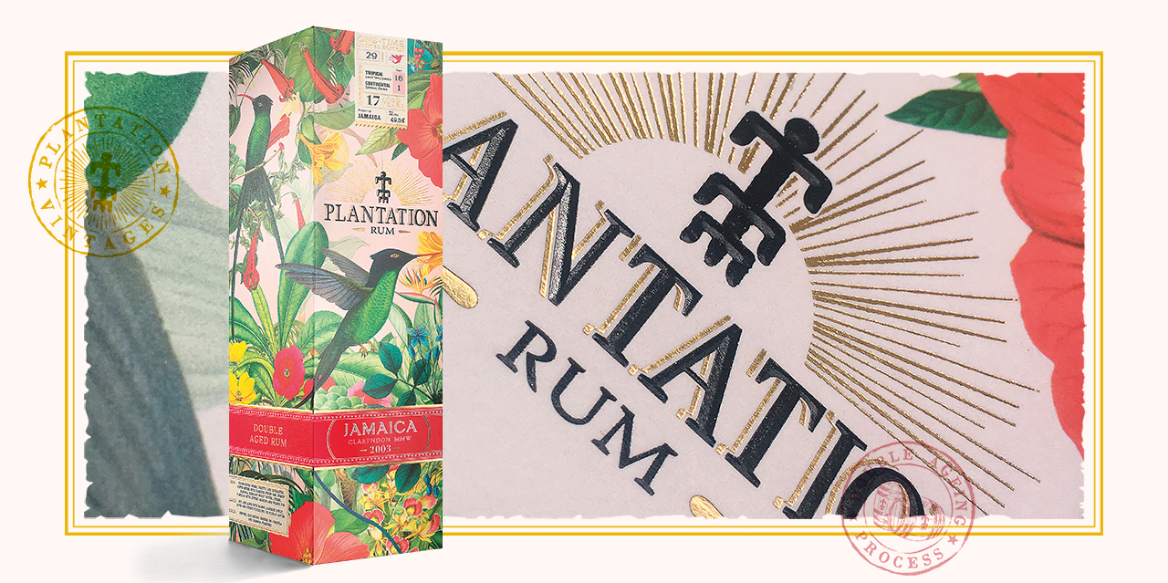 Plantation Rum / l'expérience packaging immersive